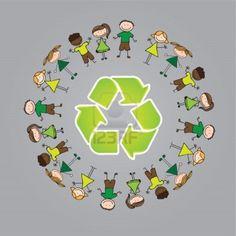 Τι είναι η ανακύκλωση, γιατί και πως ανακυκλώνουμε...    Φέρτε στο μυαλό σας έναν κύκλο. Δεν έχει ούτε αρχή, ούτε τέλος. Έτσι είναι κ... Earth Day, Origami, Kindergarten, Recycling, Projects, Blog, Kids, School, Activities