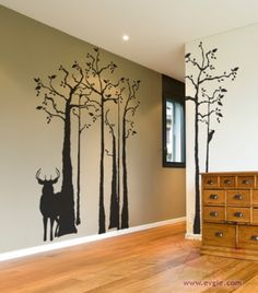 1000 Images About Deer Wall Decals On Pinterest Wall