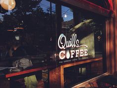 Quills Coffee Louisville, Kentucky literally lived here during finals week in high school