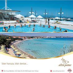 Güneşli bir Temmuz gününde serinlemek mi istiyorsunuz? Haydi o zaman ister havuza, isterseniz de denize...