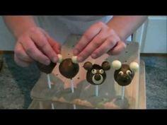 Cake Pop Ideas - Teddy Bear Cake Pops