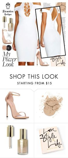 """""""Licorice Boutique"""" by gaby-mil ❤ liked on Polyvore featuring Stuart Weitzman, Stila, dress, shop and licoriceboutique"""