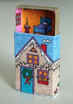 Winter Matchbox House!  