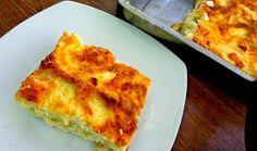 ΜΑΓΕΙΡΙΚΗ ΚΑΙ ΣΥΝΤΑΓΕΣ: Σουφλέ με φέτες ψωμί του τόστ ,πατάτα και τυρί !!! Φανταστικό !!! Lasagna, Quiche, Macaroni And Cheese, French Toast, Recipies, Breakfast, Ethnic Recipes, Food, Party