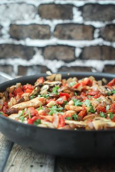 Tuscan Chicken Skillet - an easy one-pan meal
