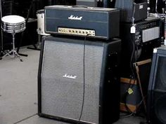 Marshall Super Lead 100 with 4x12 cabinet