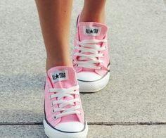 Imagem de pink, converse, and shoes