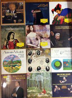 60x Vinyl 12  KLASSIK OPER OPERETTE PAKET KARAJAN BACH MOZART