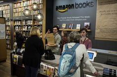 Online giant Amazon.com is planning to open as many as 400 brick-and-mortar bookstores, according to the chief executive of mall operator General Growth Properties.