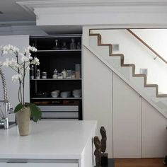 30 Modern Hallway Under Stairs With Storage Ideas