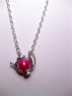 Kawaii Tea Time Treasure Dragon Pink Teapot by FashionCrashJewelry, $22.50