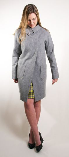 Saving up for this Cocoon Coat by www.janellehinch.co.nz