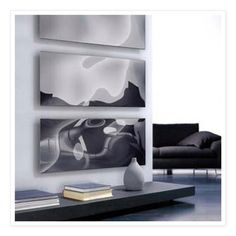 These sleek and modern radiators double up as wall art!