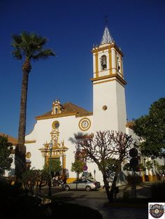 Parroquia de Santa Maria de Magdalena in Dos Hermanas in Sevilla, Andalucía. http://catholictraveljournal.com/15