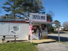 Tate's BBQ, Scottsboro AL | Marie, Let's Eat!