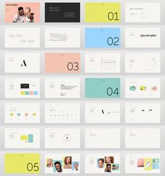 Brand New: New Name, Logo, and Identity for Apostrophe by Character Logo And Identity, Visual Identity, Corporate Identity, Design Visual, Web Design, Graphic Design, Name Logo, Brochure Design, Branding Design