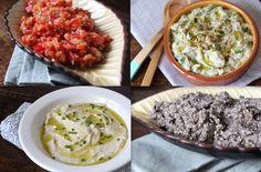 5x super simpele spreads en dips voor een feestje Turkish Kitchen, Tapenade, Made Goods, Spreads, Dips, Risotto, Grains, Sandwiches, Good Food