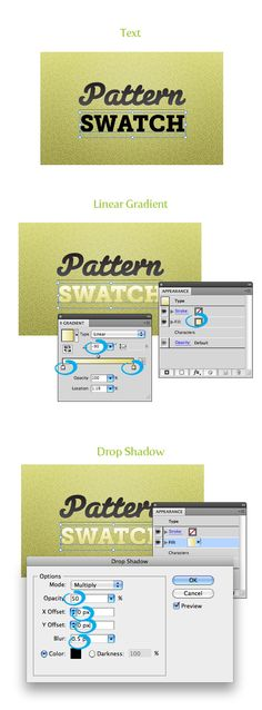Creating textures and seamless backgrounds in Adobe Illustrator