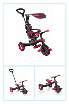 Globber 4-In-1 Explorer Trike In Red - Get your own little one ready for typically the road with this 4-in-1 Explorer Trike from Globber. Versatile and fun modern design features built-in safe-keeping and conveniently grows together with your baby from tricycle to toddler balance bike. #harleydavidsonsportsterfortyeight #harleydavidsongirlsstyle #harleydavidsonfatboymodels #harleydavidsongirlsclothes #harleydavidsoncustommotorcyclesmotorbikes #harleydavidsoncustommotorcyclesdreams Harley Davidson Pictures, Harley Davidson Fatboy, 4 In 1, The 4, Kids Trike, Toddler Bike, Balance Bike, Storage Compartments, Seat Pads