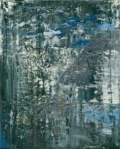 """""""Ice"""" (1989) by Gerhard Richter"""