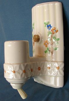 Antique Victorian Oval Wall Sconce