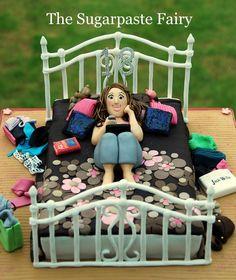 cake - Ellie in bed @Matty Chuah Sugarpaste Fairy