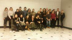 Iñaki Alcubilla en un curso de formación. Con sus alumnos.