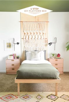 How To Build A Platform Bed In 3 Steps! (no, Seriously!)