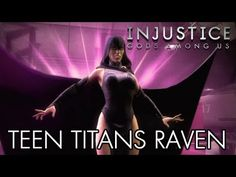 Raven Teen Titans - Available via Download of Teen Titans Skin Pack