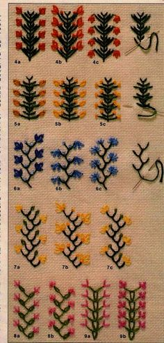 13018 Best Crewel Embroidery Patterns images in 2019