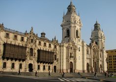 Lima Cathedral, Peru (Burial place of Francisco Pizarro)