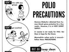 Enlarge: 1953 Polio Brochure 2 | Preventable, eradicated and ...