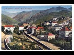 Let us have a tour into the old Zahle Album, and enjoy rare pictures and fabulous poetry about the bride of the Beqaa! Special thank to Mrs Soumaya Kyprianos. Lebanon, Spirit, Culture, Magazine, History, World, Youtube, Historia, Magazines