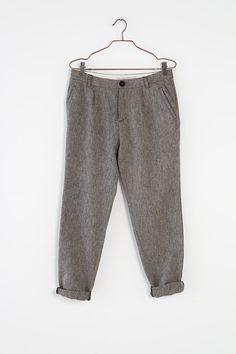 YAYA FW'16   A RURAL REVERIE   HERRINGBONE PANTS #YAYAthebrand #YAYAFW16 #aruralreverie #herringbonepants