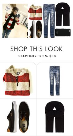 """BTS Jimin"" by banana-lee ❤ liked on Polyvore featuring Great Plains, Abercrombie & Fitch, Vans, Rick Owens and Givenchy"