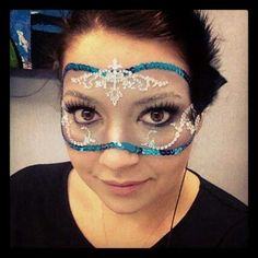 Mask like this would totally work under my glasses...or over them ...