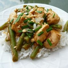 "Erin's Indonesian Chicken | ""Next time, I'll probably make twice the rice and twice the sauce. Fantastic recipe!"""