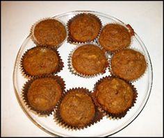 My recipe for healthier pumpkin bread or pumpkin muffins – I always prefer to make small loaves or muffins rather than one big loaf because it helps me maintain some portion control! The muffins also freeze really well — just cook them for 30 seconds in the microwave for a hot, delicious pumpkin muffin.