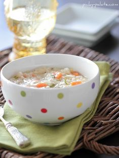 Classic Chicken and Rice Soup 2 Tablespoons extra virgin olive oil 1 medium onion, finely chopped 1 tablespoon minced garlic 3 stalks celery, chopped 3 medium carrots, peeled and chopped 3 cups cooked, shredded chicken 7 cups chicken broth 2 cups cooked white rice 1 tablespoon whole grain Dijon mustard 1/2 teaspoon kosher salt 1/4 …