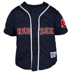 Majestic Boston Red Sox Toddler Closehole Mesh Jersey - Navy Blue