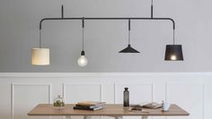 Vialattea by Formabilio made in Italy on CrowdyHouse, great pendant lamp for over a big table