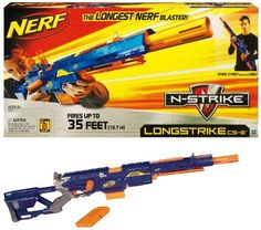 The Nerf sniper rifle is yet another nerf toy that we wish they made when we were growing up. You can have an all out sniper war with these fun sniper rifles. This Nerf Sniper Rifle is a great gift for office warfare. Nerf Snipers, Crayola Pens, Lego Building Sets, Nerf Toys, 12 Year Old Boy, Nerf War, Long Shot, Super Saver, Indoor Activities For Kids