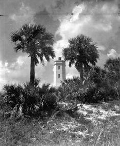 Florida Memory - View looking towards the Saint Johns Light Station - Mayport, Florida 1969