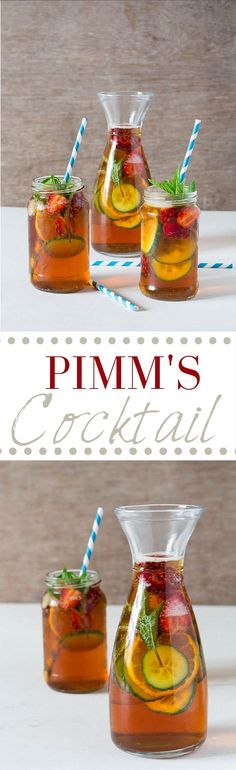 Pimms Cocktail Recipe | Recipes From A Pantry Come and see our new website at bakedcomfortfood.com!