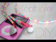 Back to School DIY: Bunte Kopfhörer