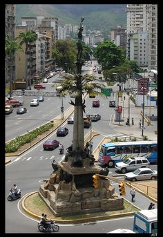 "This is a obelisk called: ""Carabobo´s Monument"" in Caracas, or as it´s better known ""The Indian"", and was built as an icon of the expansion of the city.  Photo by Juan Carlos Trujillo Maldonado."