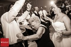 I love grandmas who know how to get down ;)!  Encourage grandma to come up and dance with you-- you never know what she'll do!  Addison Park wedding photography