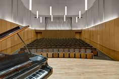 Bora has been working with the College of Music at Michigan State University since 2001 to program, master plan, design and implement the transformation of thei