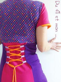 Du fil et mon...: Robe Circus