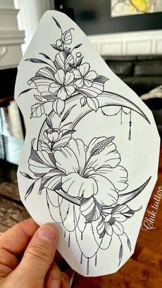 Mandala Tattoo Sleeve, Mandala Tattoo Design, Tattoo Sleeve Designs, Flower Tattoo Designs, Tattoo Designs For Women, Flower Tattoos On Arm, Hawaiian Flower Tattoos, Hip Tattoo Designs, Unique Tattoo Designs